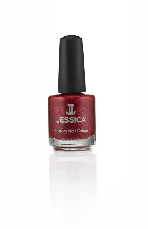Jessica Лак для ногтей, оттенок 1009 Holiday Magic, 14,8 млA8233200Лаки JESSICA содержат витамины A, Д и Е, обеспечивают дополнительную защиту ногтей и усиливают терапевтическое воздействие базовых средств и средств-корректоров.