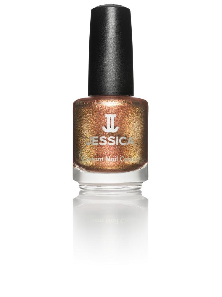 Jessica Лак для ногтей, оттенок 736 Gingersnap, 14,8 млSC-FM20104Лаки JESSICA содержат витамины A, Д и Е, обеспечивают дополнительную защиту ногтей и усиливают терапевтическое воздействие базовых средств и средств-корректоров.