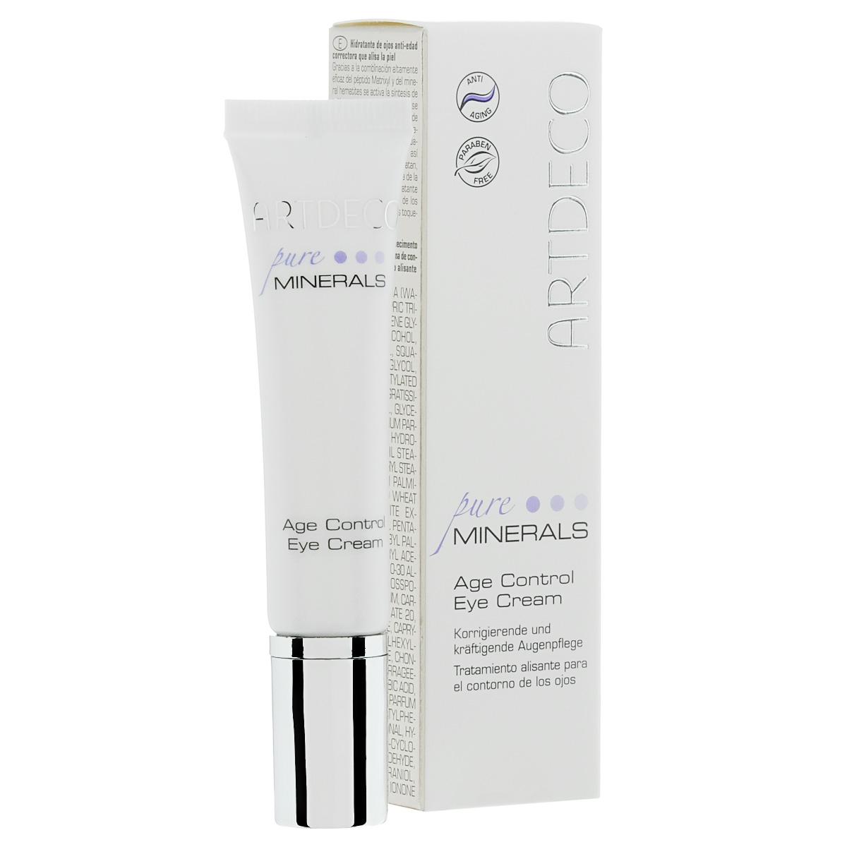 ARTDECO Крем вокруг глаз с эффектом лифтинга Pure Minerals Age Control Eye Cream, 15 мл