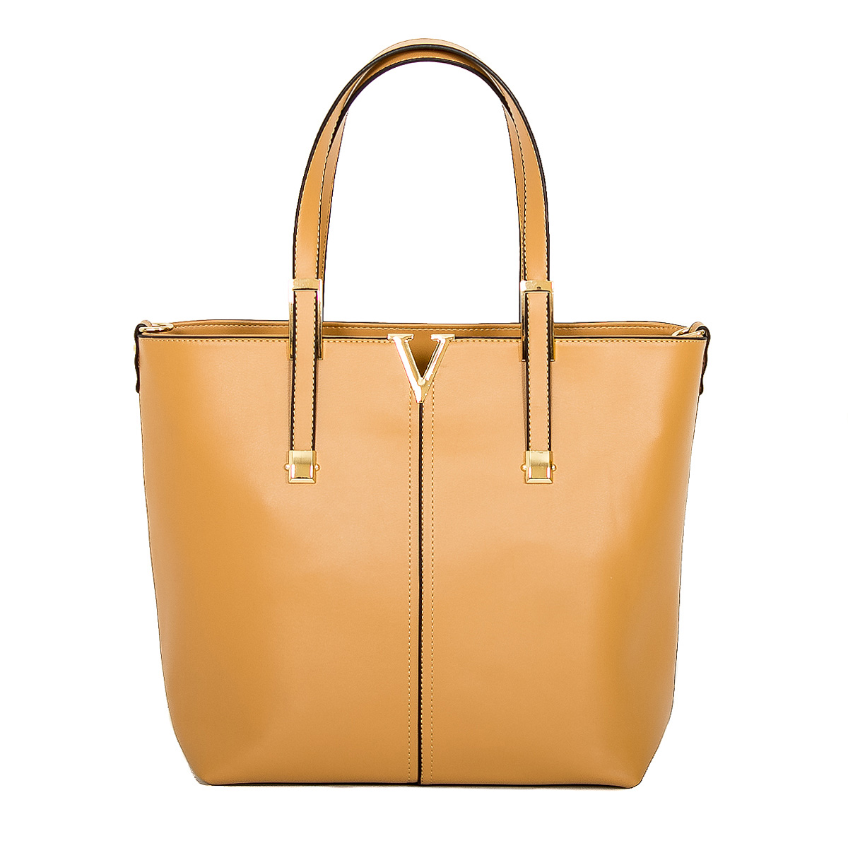 Сумка женская Farfalla Rosso, цвет: бежевый. 70008-306/3L39845800Изысканная женская сумка Farfalla Rosso выполнена из искусственной кожи. Сумка закрывается на застежку-молнию. Внутри - одно отделение, разделенное карманом-средником на застежке-молнии, также есть втачной карман на застежке-молнии, два накладных кармашка для мелочей и телефона. Задняя сторона дополнена плоским врезным карманом на застежке-молнии. Две ручки сумки крепятся на металлическую фурнитуру. Дно сумки защищено металлическими ножками, обеспечивающими дополнительную устойчивость. В комплекте плечевой отстегивающийся ремень и чехол для хранения. Блестящий дизайн сумки, сочетающий классические формы с оригинальным оформлением, позволит вам подчеркнуть свою индивидуальность и сделает ваш образ изысканным и завершенным.