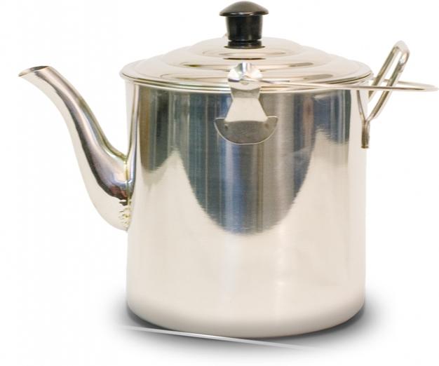 Чайник Canadian Camper CC-K227, 2,27 л32100025Чайник Canadian Camper CC-K227 выполнен из высококачественной нержавеющей стали. Имеет компактный дизайн, благодаря чему он замечательно подходит для использования как дома, так и на выезде. Оснащен ручкой и складной дугой для подвешивания над костром.Диаметр чайника (без учета носика и ручки): 14 см.Высота чайника: 13,5 см.