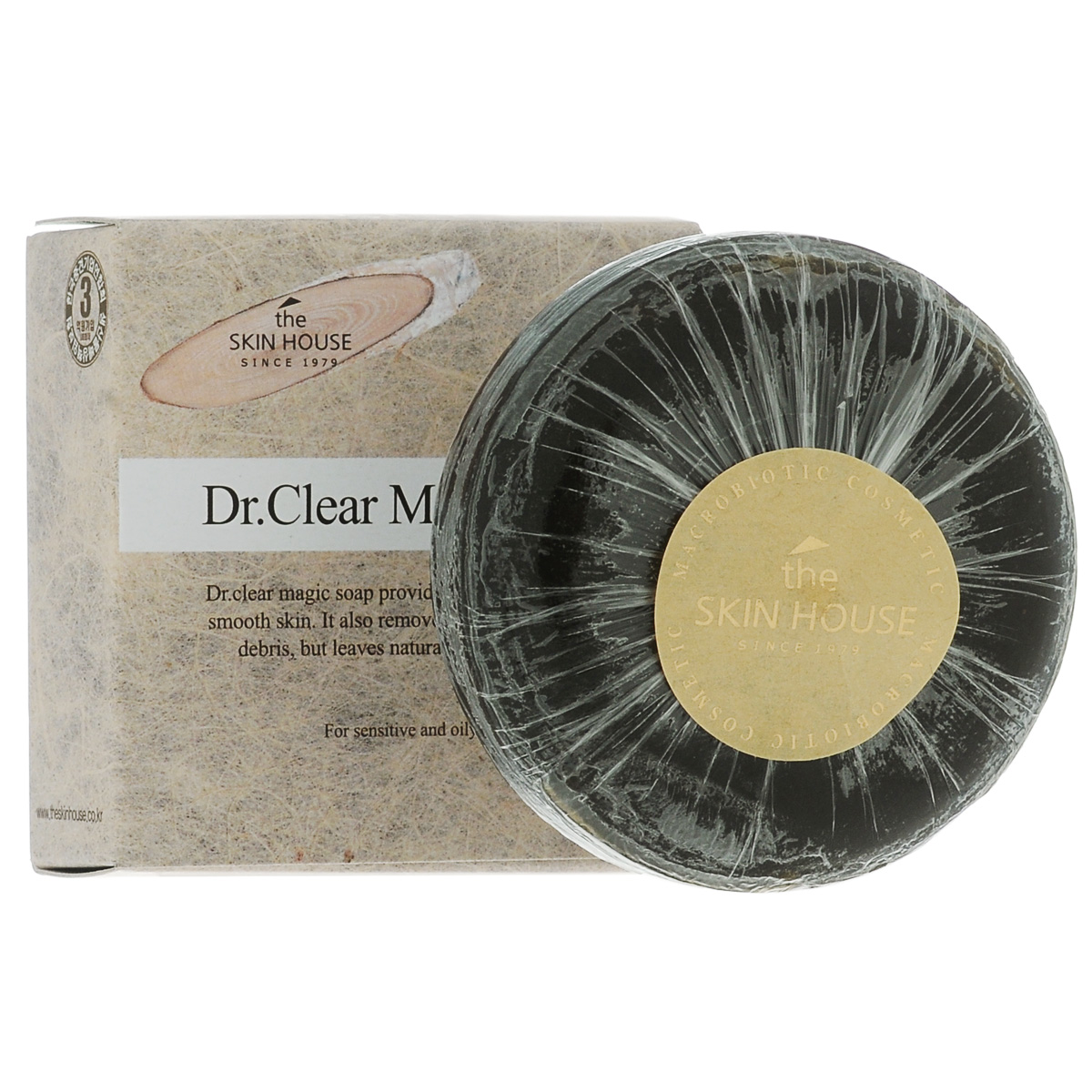 The Skin House Мыло от воспалений DR. Clear magic, 100 г