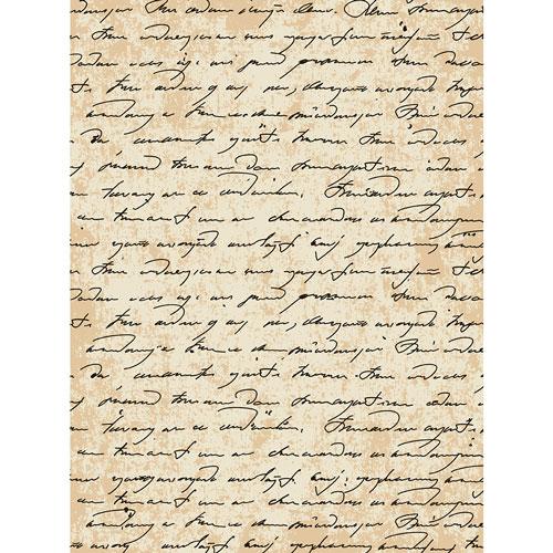 Рисовая бумага для декупажа Craft Premier Старинная рукопись, 28 х 38 см