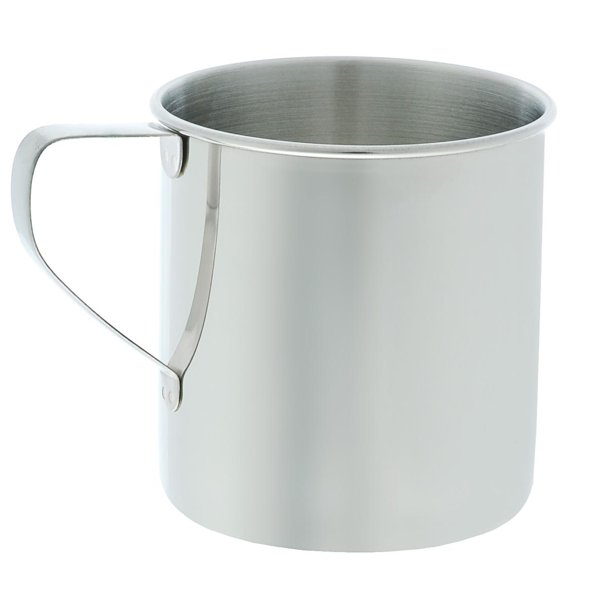 Кружка походная Tatonka Mug, 0,5 лWS 7064Кружка Tatonka Mug - классическая однослойная походная кружка, выполненная из высококачественной нержавеющей стали, которая отлично распределяет тепло во время готовки. Кружка легко чистится, не имеет привкуса, устойчива к коррозии, долговечна. Внутри расположена мерная шкала.Высота кружки: 9,5 см.Диаметр: 9 см.
