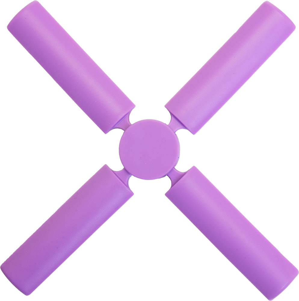 Подставка под горячее Marmiton, складная, цвет: сиреневый, 21,6 х 21,6 см12136Подставка под горячее Marmiton изготовлена из термостойкого силикона, который выдерживает температуру до +240°С. Подставка предназначена для горячей посуды, она поможет защитить поверхность столешниц и столов. В сложенном виде изделие не займет много места в кухонном ящике.Можно мыть в посудомоечной машине.Размер (в сложенном виде): 3,5 см х 3,5 см х 10 см.Размер (в разложенном виде): 21,6 см х 21,6 см х 1 см.