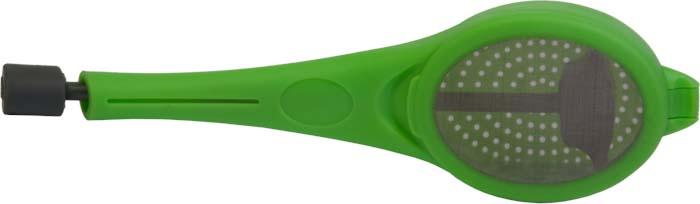 """Завариватель чая Marmiton, цвет: зеленыйBK-S430Завариватель """"Marmiton"""" предназначен для заваривания чая в чашке. Можно использовать чайные пакетики или чайные листья.Благодаря оригинальному дизайну и функциональности, завариватель чая """"Marmiton"""" может стать полезным подарком для ваших друзей и близких.Размер заваривателя: 18 см х 3,5 см х 2 см."""