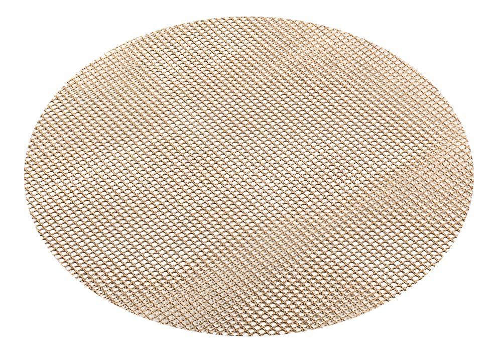 Сетка для духовки и гриля Marmiton, диаметр 24 см17050Сетка Marmiton предназначена для приготовления любых продуктов в газовых и электрических духовках, на гриле, без масла и жира. Благодаря равномерной циркуляции воздуха, позволяет добиться хрустящей корочки. Сетка изготовлена из стекловолокна с антипригарным покрытием. Для многоразового использования.Диаметр: 24 см.Температурный режим: от - 60°С до + 260°С.