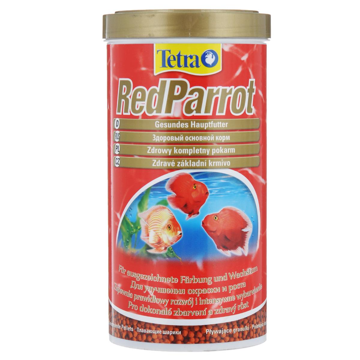 Корм сухой Tetra RedParrot, для красных попугаев, в виде шариков, 1 л0120710Tetra RedParrot - разработан специально для удовлетворения специфических потребностей красных попугаев в питании. Этот корм в виде шариков среднего размера особенно рекомендован большим красным попугаям. Особенности корма Tetra RedParrot: - содержит натуральные усилители цветовой окраски и выделения красных пигментов;- усиление окраски заметно уже через две недели при кормлении только Tetra RedParrot;- оптимальная рецептура обеспечивает хорошую усваиваемость и улучшение роста;- произведено в Германии, строгий контроль качества в соответствии с нормами ISO 9001 гарантируют здоровое питание. Рекомендации по кормлению: кормить несколько раз в день маленькими порциями. Характеристики: Состав: зерновые культуры, экстракты растительного белка, рыба и побочные рыбные продукты, дрожжи, моллюски и раки, масла и жиры, минеральные вещества, водоросли.Пищевая ценность: сырой белок - 42%, сырые масла и жиры - 8%, сырая клетчатка - 2%, влага - 9%.Добавки: витамин А 29460 МЕ/кг, витамин Д3 1840 МЕ/кг, Е5 марганец 100 мг/кг, Е6 цинк 61 мг/кг, Е1 железо 40 мг/кг, Е3 кобальт 0,7 мг/кг. Красители, антиоксиданты.Вес: 1 л (320 г).