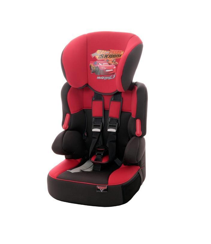Автокресло Disney Beline SP гр. 1-2-3 CarsDisneyVCA-00Автокресло Nania Disney Beline SP (cars) - автокресло группы 1-2-3, подходит для детей с 9 месяцев до 12 лет (с 9 до 36 кг).