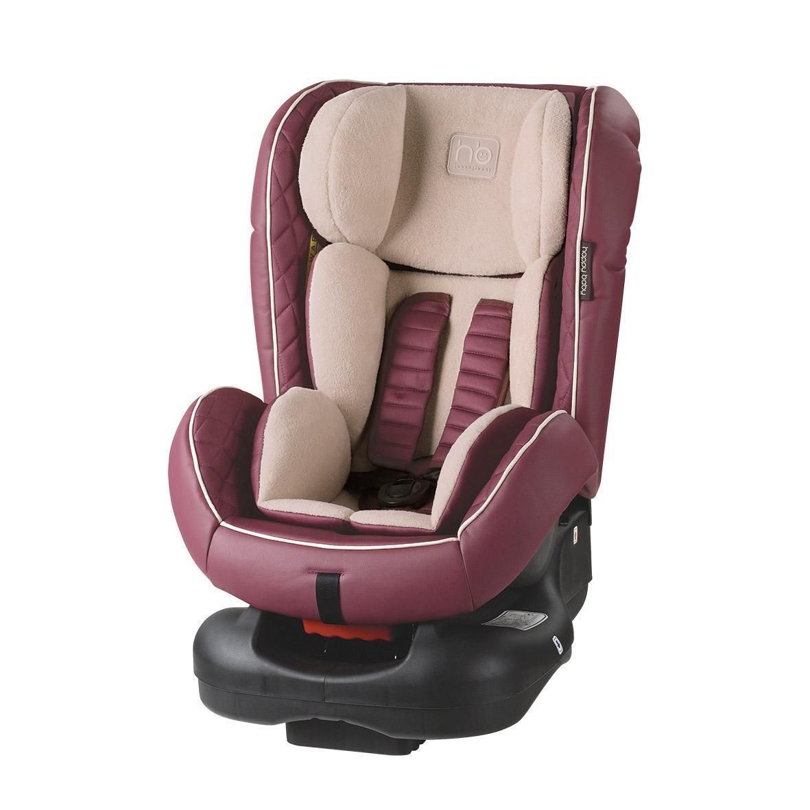 Автокресло Happy Baby Taurus PurpleFS-80423Taurus - автомобильное кресло групп 0/I (для детей от 0 до 18 кг). Внешняя часть кресла выполнена из качественной экокожи, приятной на ощупь, которая не пачкается и имеет водоотталкивающий эффект. Благодаря дышащей фактурной текстильной вкладке малыш будет чувствовать себя комфортно. Кресло имеет 4 положения наклона спинки, оснащено удобным механизмом регулировки. Ребенок фиксируется в кресле с помощью пятиточечных ремней безопасности, оснащенных регулируемыми по высоте накладками. Вы можете комфортно поместить малыша в кресло и быть уверенными в его безопасности. Автокресло крепится в автомобиле с помощью трехточечных штатных ремней безопасности и устанавливается лицом по ходу или против движения автомобиля.