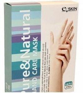 Gel Corporation Питательная маска E+Skin для рук с натуральными маслами в виде перчаток 5 шт.FS-00897Маска для рук это необходимый уход за достаточно проблемными участками кожи. Компоненты маски окажут интенсивное питание и увлажнение, осветлят и разгладят кожу рук. Гиалуроновая кислота, окажет мощное увлажняющее действие, вернет коже плотность и упругость. Натуральные масла смягчают кожу, подтянут, осветлят, моментально увлажнят, надолго оставят ее мягкой и гладкой. Обеспечат защиту от УФ излучения, препятствует образованию пигментации.