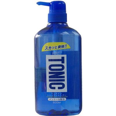 WINS Тонизирующий шампунь Tonic с ополаскивателем, 600 мл.FS-00897Тонизирующий шампунь с ментолом против перхоти содержит натуральный ментол. Включает в состав очищающий компонент для кожи головы. Тщательно очищает кожу головы от загрязнений. Легко смывается. Устраняет перхоть и зуд. Содержит растительные катионизироаванные полимеры. Делает волосы шелковистыми. Обладает нежным ароматом свежей мяты.