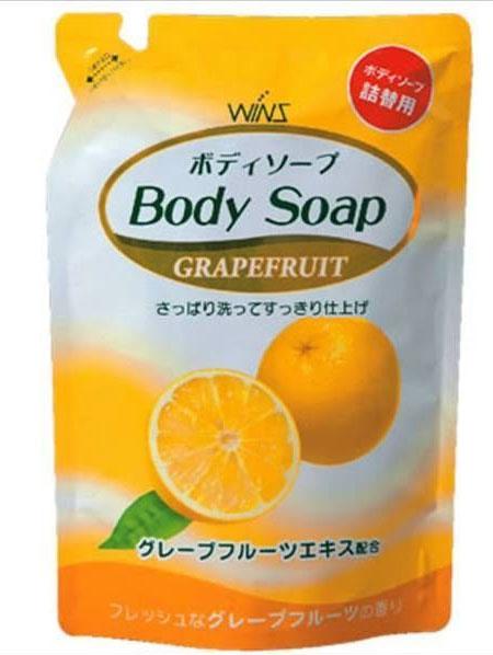 WINS Гель для душа увлажняющий Grapefruit с экстрактом грейпфрута 400мл (мэу)334900930/08375Гель для душа увлажняет кожу и делает её гладкой благодаря содержанию экстракта грейпфрута (увлажняющий компонент). Данный продукт является нежным моющим средством для всего тела. Обильная и мягкая пена хорошо удаляет загрязнения и обеспечивает мягкое очищение. Вам непременно понравится свежий аромат грейпфрута, мягкий моющий эффект и нежный уход за телом при ежедневном использовании при принятии ванны или душа!