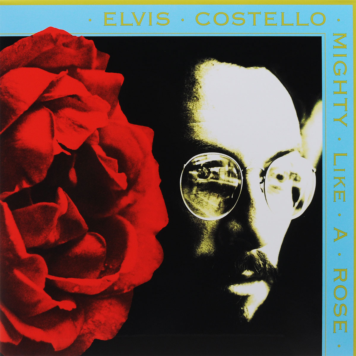 Элвис Костелло Elvis Costello. Mighty Like A Rose (LP) элвис костелло elvis costello taking liberties lp