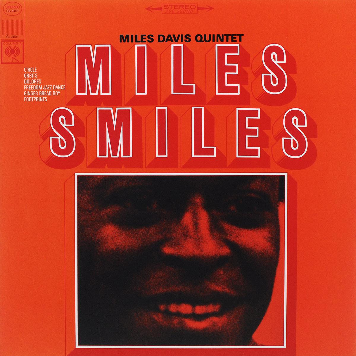 Майлз Дэвис,Miles Davis Quintet DAVIS, MILES -QUINTET- Miles Smiles -Hq- LP davis 6316ceu