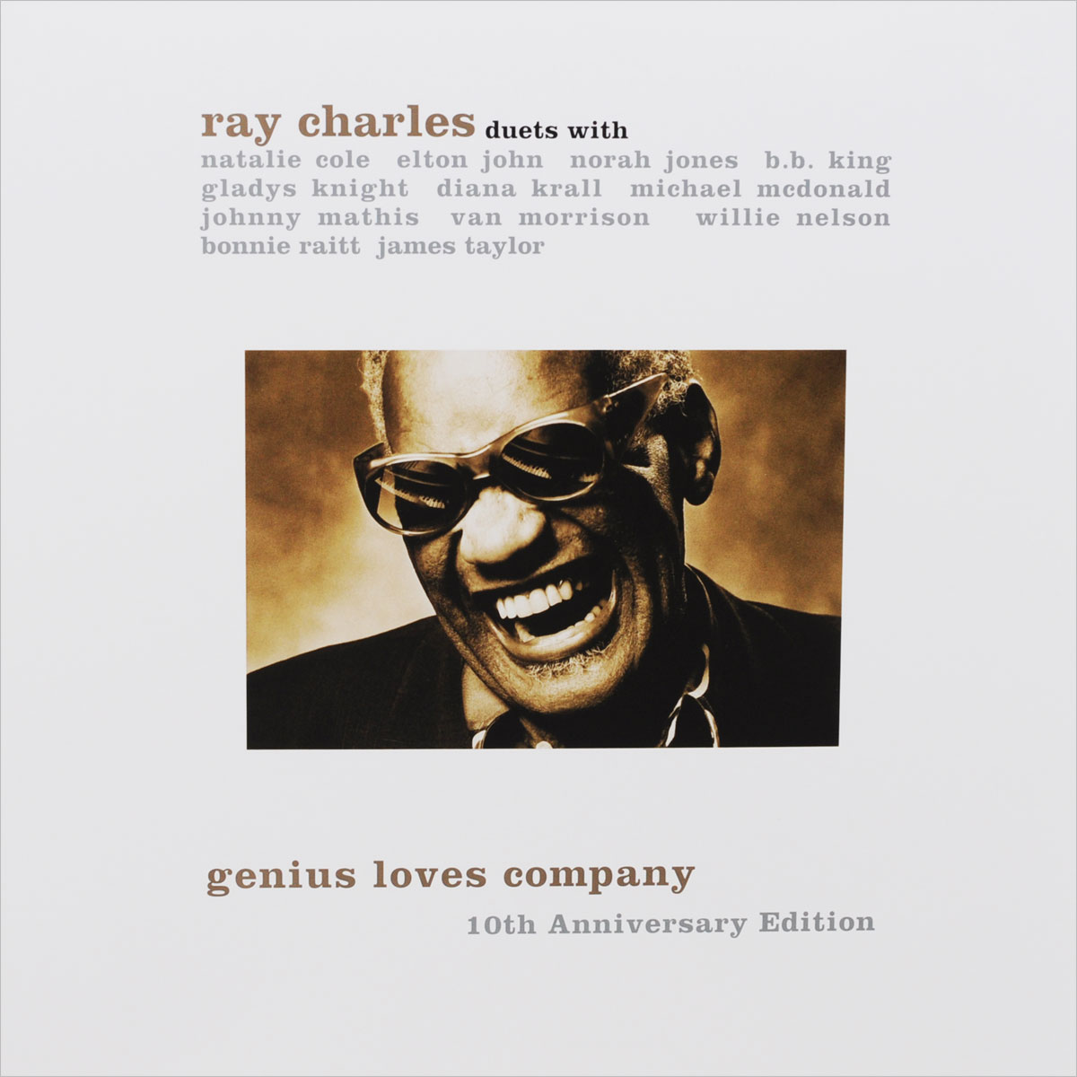 Рэй Чарльз Ray Charles. Genius Loves Company (2 LP) виниловая пластинка ray charles the atlantic years in mono 7 lp