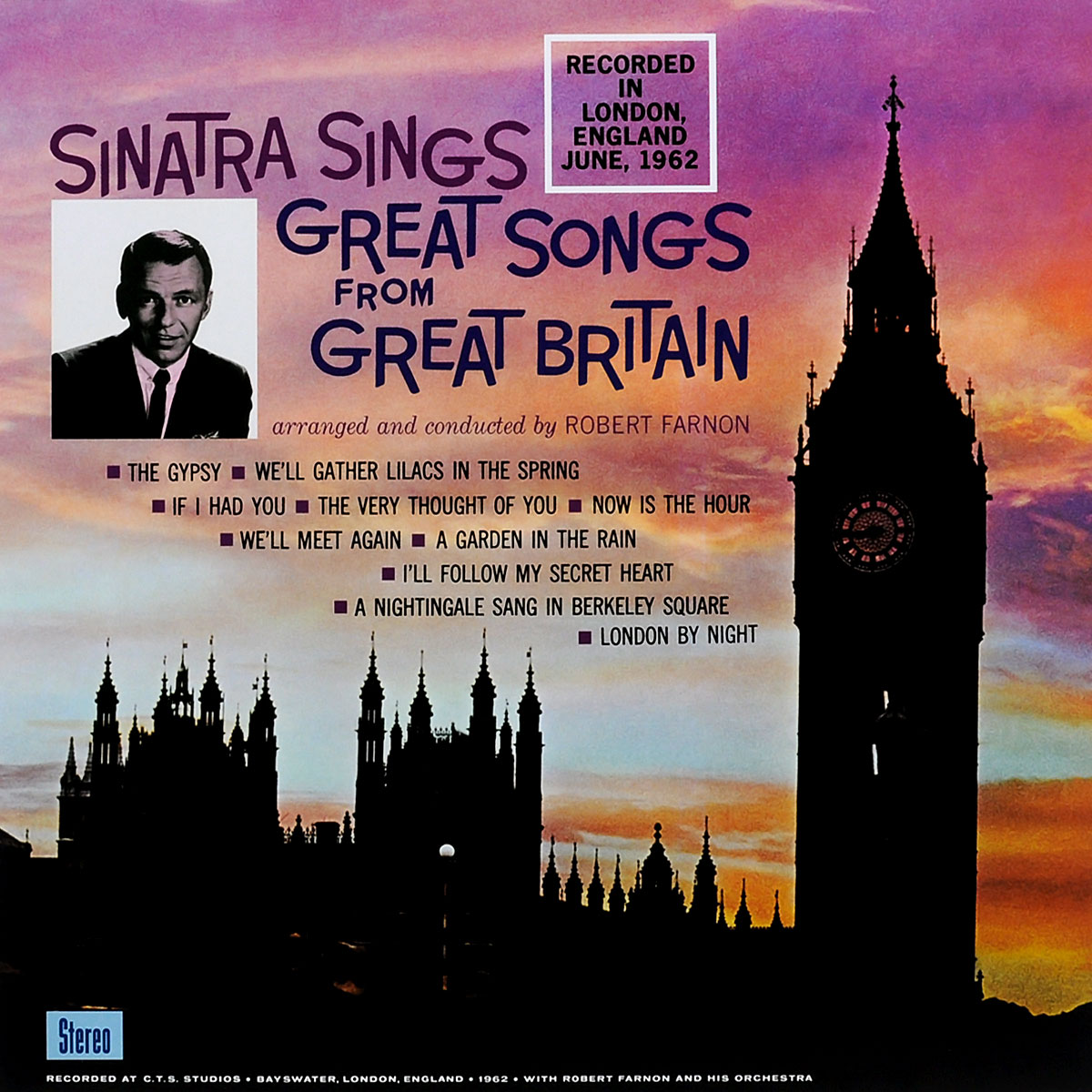 Фрэнк Синатра младший Frank Sinatra. Sinatra Sings Great Songs From Great Britain (LP) cicero sings sinatra live in hamburg blu ray
