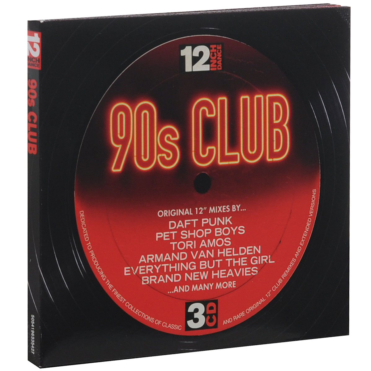 12 Inch Dance. 90s Club (3 CD)
