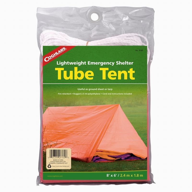 Тент для ночлега  Coghlan's , 240 см х 180 см - Палатки и тенты