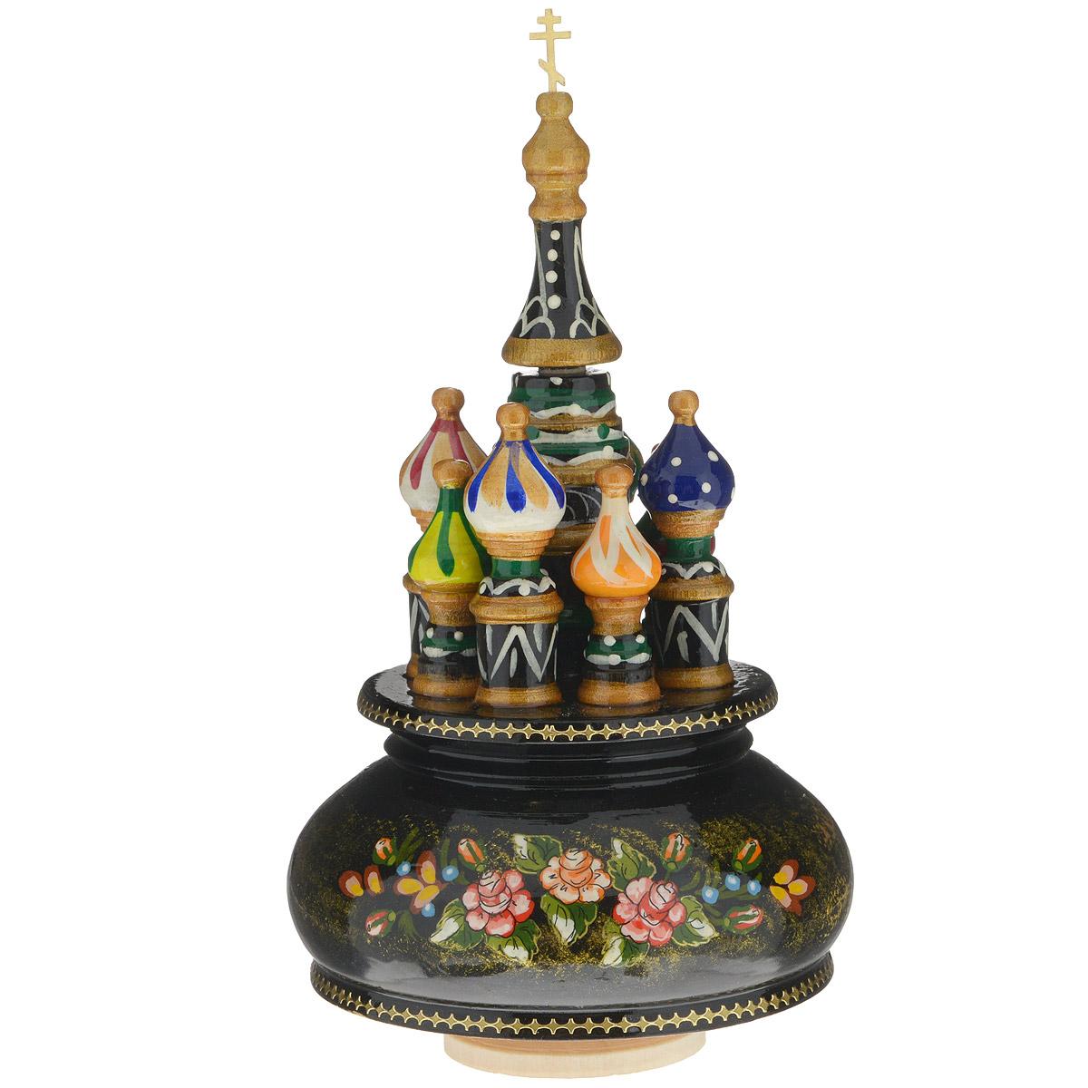 Фигурка декоративная Sima-land Храм, музыкальная, высота 21 см. 1079918