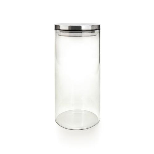 Емкость для хранения Iris с крышкой, 1,2 лVT-1520(SR)Емкость для хранения Iris изготовлена из качественного боросиликатного стекла. Данная банка с плотно прилегающей крышкой предназначена для хранения различных продуктов. Это стекло идеально выдерживает тепловые нагрузки. Плотно прилегающая крышка позволяет избежать контакта продуктов с окружающей средой.