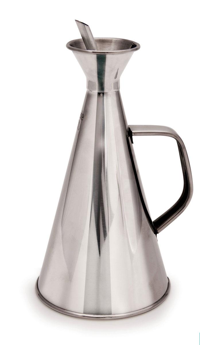Масленка Iris Barcelona Cuinox, 500 мл115610Масленка Iris Barcelona Cuinox выполнена из нержавеющей стали высокого качества и позволяет очень аккуратно налить масло на сковородку или в сотейник, а также добавить масло в готовую еду. Слив масла осуществляется через носик, масло наливается через отверстие горловины, закрытой крышечкой. Внутри мыть ершиком с использованием теплого мыльного раствора (нельзя использовать агрессивные моющие средства).