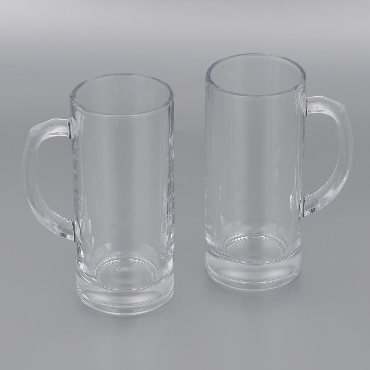 Набор пивных кружек Pasabahce Pub, 380 мл, 2 шт. 55439B68/5/3Набор Pasabahce Pub состоит из двух пивных кружек, выполненных из прочного натрий-кальций-силикатного стекла. Кружки оснащены удобными ручками и утолщенным дном. Такой набор прекрасно подойдет для любителей пенного напитка.Можно мыть в посудомоечной машине и использовать в микроволновой печи.Высота кружки: 16,5 см.Диаметр кружки (по верхнему краю): 7 см.380 мл