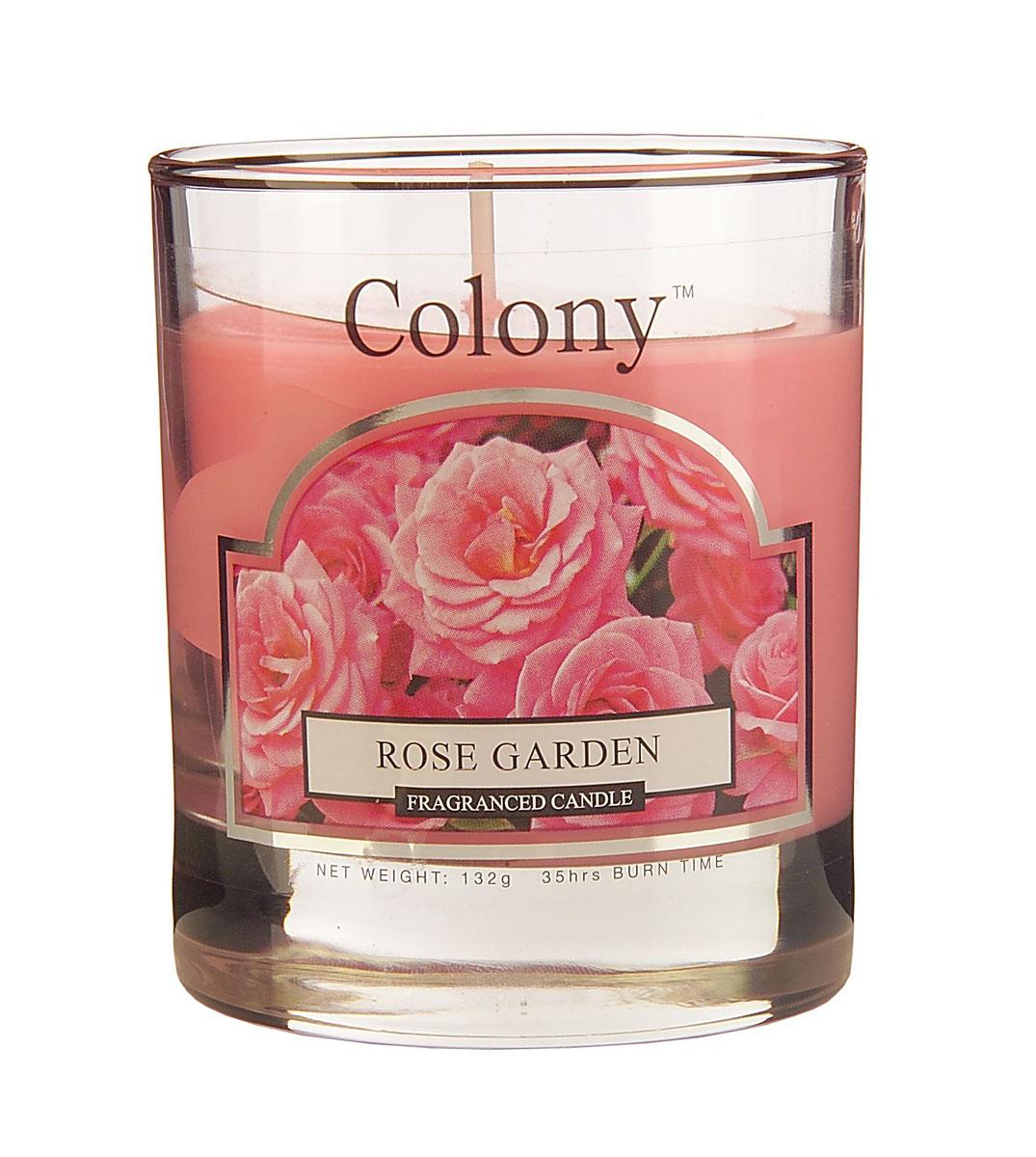 Wax Lyrical Розовый сад ароматизированная свеча в стекле малая, 35часовFS-91909Узнаваемый аромат свежесрезанных роз, переплетающийся с нотками гардении