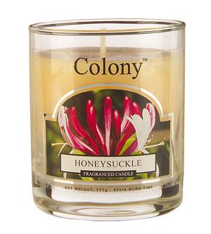 Wax Lyrical Цветущая жимолость ароматизированная свеча в стекле малая, 35 часовFS-91909Нежный успокаивающий аромат цветов жимолости, дополненный едва уловимым древесно-ванильным оттенком. Уважаемые клиенты! Обращаем ваше внимание на возможные изменения в дизайне упаковки. Поставка осуществляется в зависимости от наличия на складе.