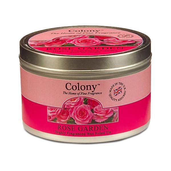 Wax Lyrical Розовый сад ароматизированная свеча в алюминии, 30 часовFS-91909Узнаваемый аромат свежесрезанных роз, переплетающийся с нотками гардении