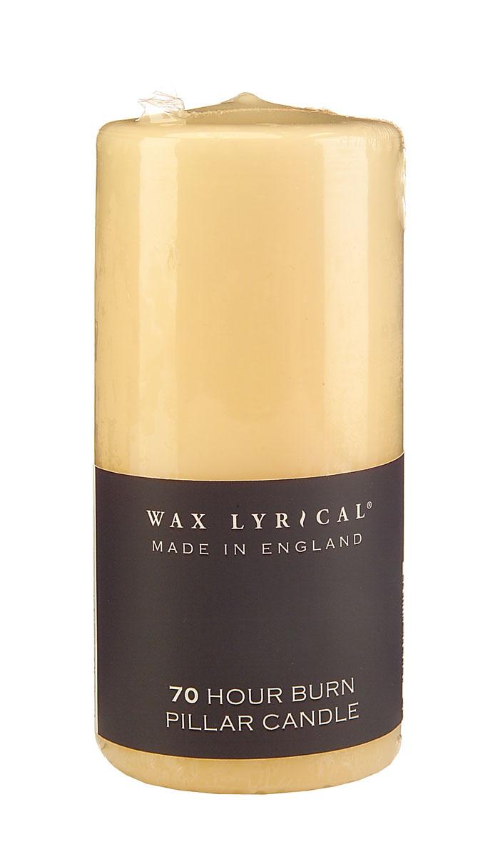 Wax Lyrical Декоративная свеча на 70 часов горения, 7 х 15 смFE0102Натуральная свеча из пищевого парафина от компании Wax Lirical будет гореть 70 часов. Свеча не течет, не пахнет и украсит любой интерьер