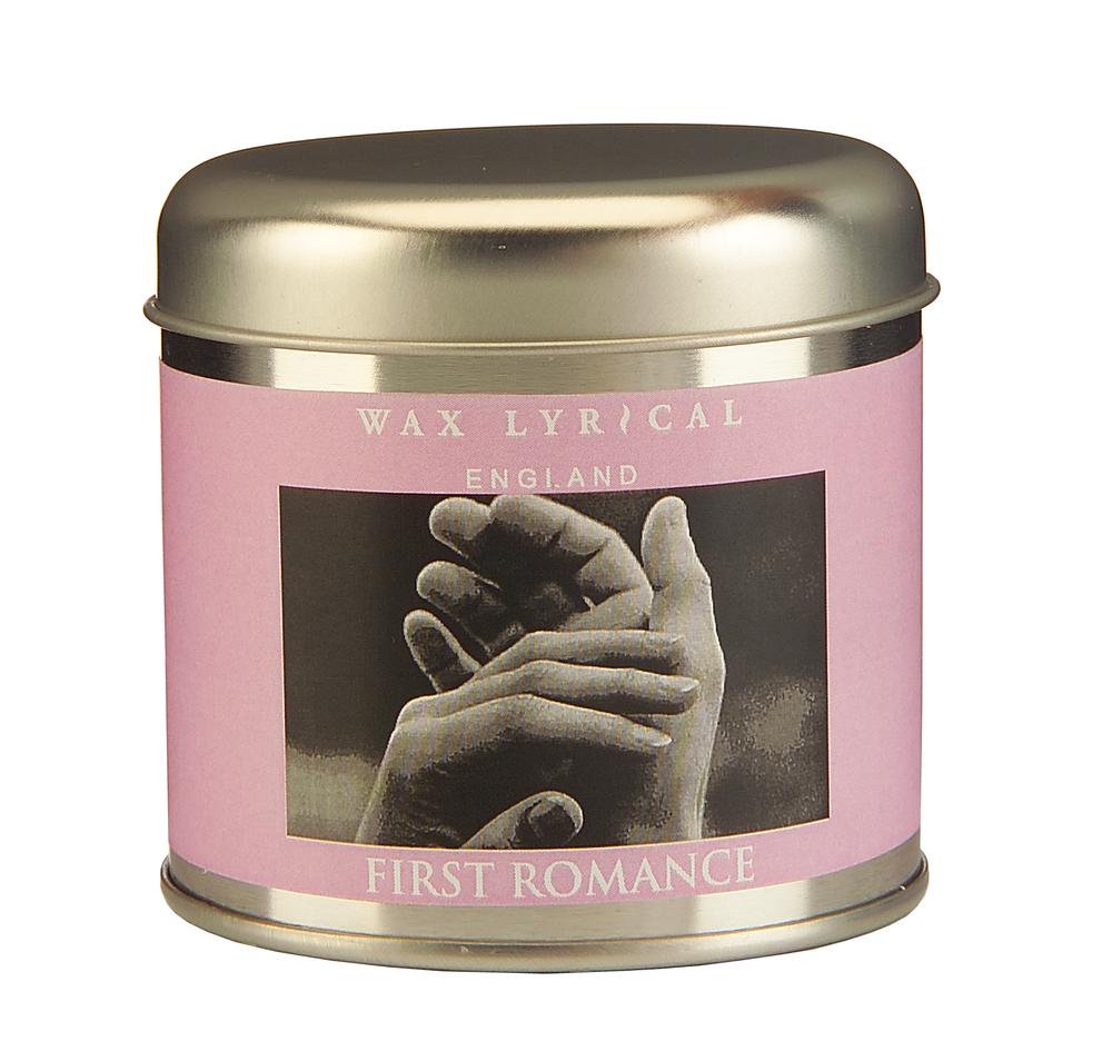 Wax Lyrical Первая любовь ароматическая свеча в алюминии, 35 часов122690Настраивающий на романтический лад аромат жасмина и цветущего миндаля