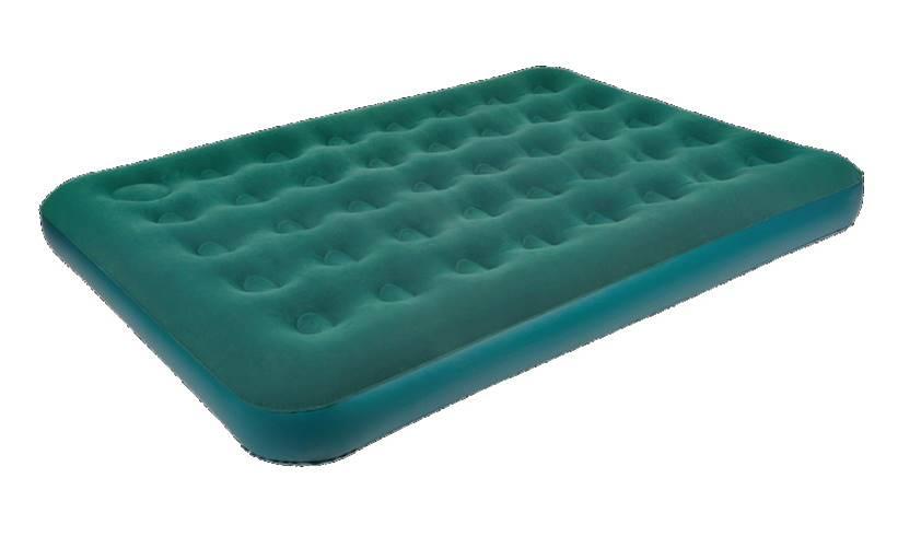 Кровать надувная Relax  Air Bed Plus Twin , со встроенным ножным насосом, 191 см x 99 см x 22 см - Складная и надувная мебель