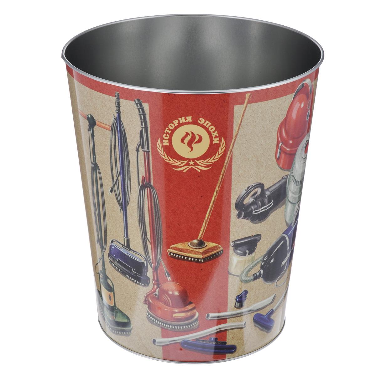 Ведро для мусора Феникс-презент ПылесосыAPS-4L-01Ведро для мусора Феникс-презент Пылесосы изготовлено из металла с изображением старых советских пылесосов. Такой аксессуар очень удобен в использовании, как дома, так и в офисе и прекрасно подойдет для уборки и хранения мусора. Диаметр ведра: 22,5 см. Высота ведра: 26,5 см.