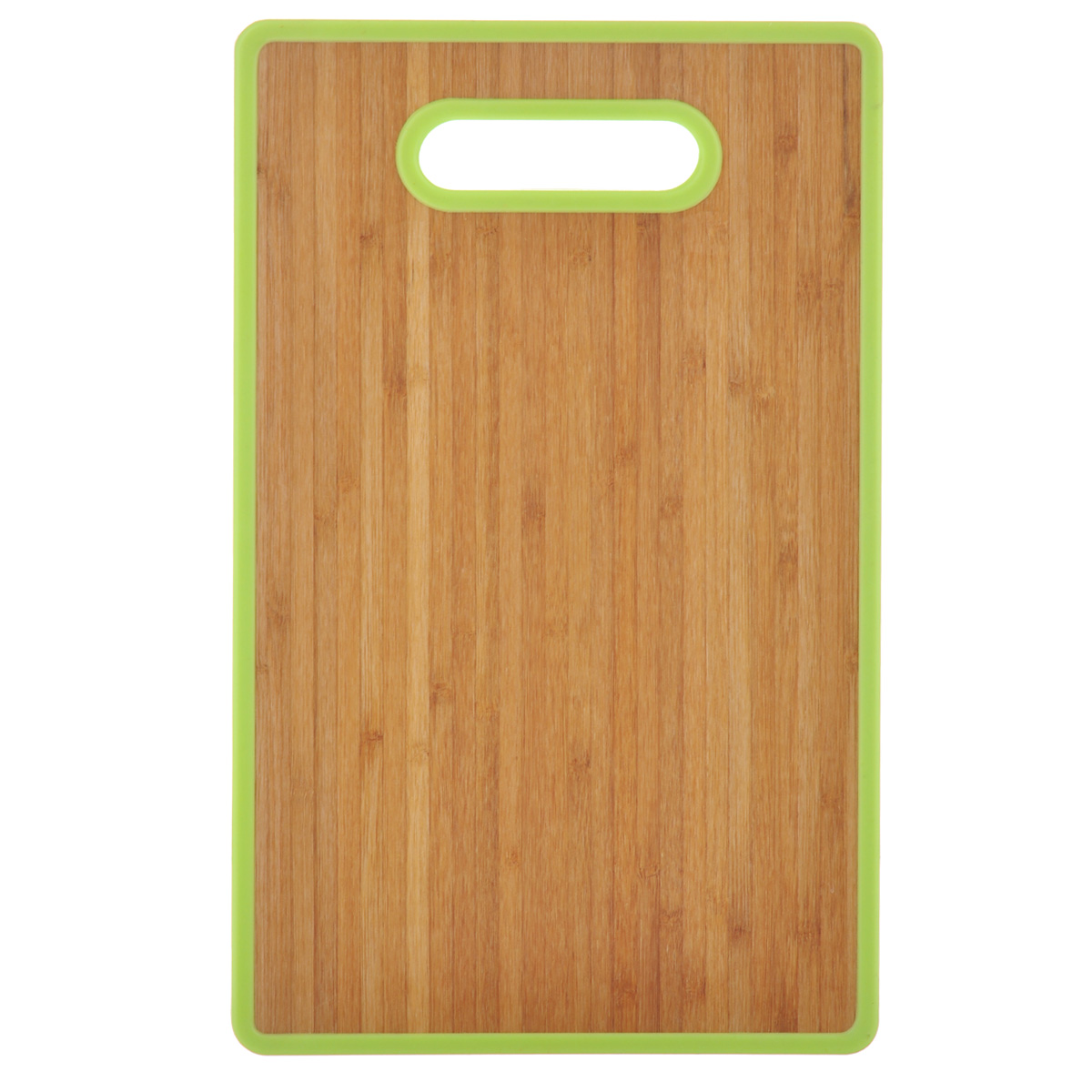 Доска разделочная Home Center, цвет: светло-зеленый, 22,5 см х 37 см1014210Разделочная доска Home Center идеально впишется в интерьер современной кухни. Изделие выполнено с одной стороны -из высококачественного пластика, с другой - из бамбука. Благодаря качественному природному материалу - древесине бамбука, доска обладает высокими гигиеничными свойствами, не впитывает влагу и запахи, имеет долгий срок службы и высокую износоустойчивость. Она прекрасно подойдет для нарезки любых продуктов. Размер доски: 22,5 см х 37 см х 1,2 см.
