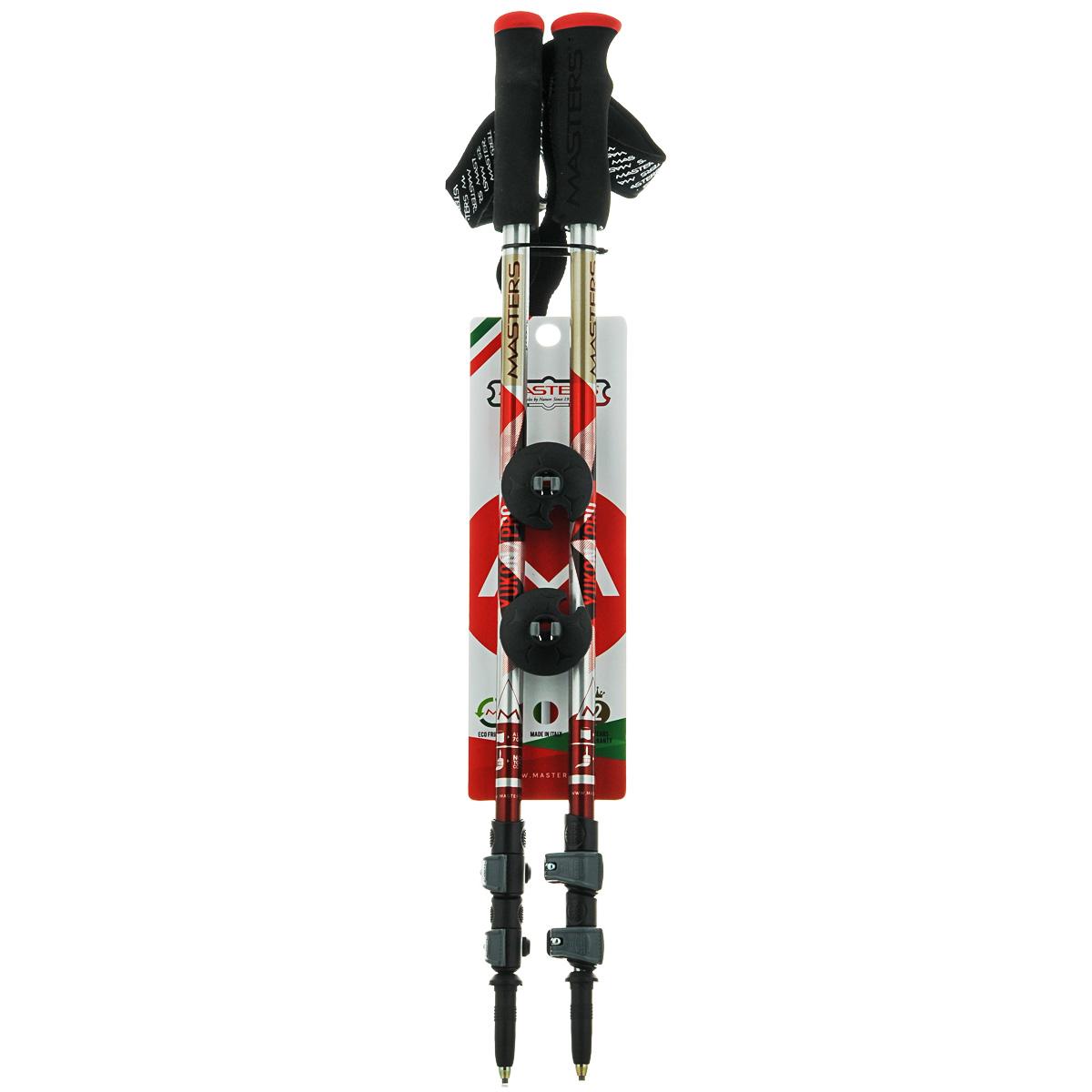 Палки для трекинга Masters  Yukon Pro , телескопические, 65-135 см - Палки для трекинга