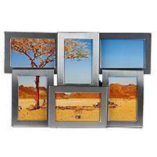 ФоторамкаImage Art 6020/6-4SU210DFФоторамка Image Art - прекрасный способ красиво оформить ваши фотографии. Изделие рассчитано на 2 фотографии. Фоторамка выполнена из металла и защищена стеклом. Фоторамку можно поставить на стол или подвесить на стену, для чего с задней стороны предусмотрены специальные отверстия. Такая фоторамка поможет сохранить на память самые яркие моменты вашей жизни, а стильный дизайн сделает ее прекрасным дополнением интерьера.