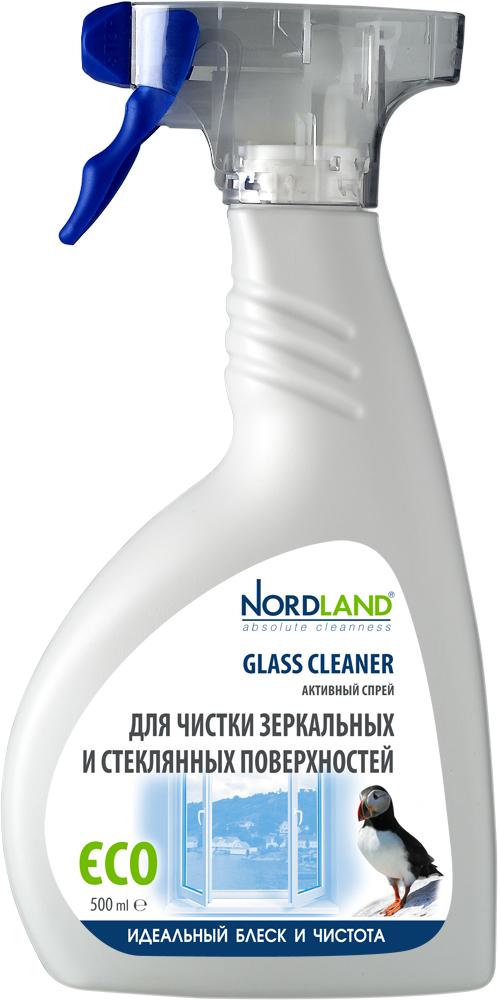 Активный спрей Nordland для чистки зеркальных и стеклянных поверхностей, 500 мл790009Средство Nordland эффективно и бережно очищает и придает кристальную прозрачность любым зеркальным и стеклянным поверхностям: оконным стеклам, стеклянным столам, кафельной плитке. Средство без усилий удаляет жирные пятна, следы от пальцев, пыль, известковый налет, следы от зубной пасты и другие загрязнения. Имеет легкий и свежий аромат.Средство производится на основе натуральных компонентов и не содержит агрессивных химических веществ. Характеристики: Объем: 500 мл. Артикул: 391329. Производитель: Германия. Товар сертифицирован.
