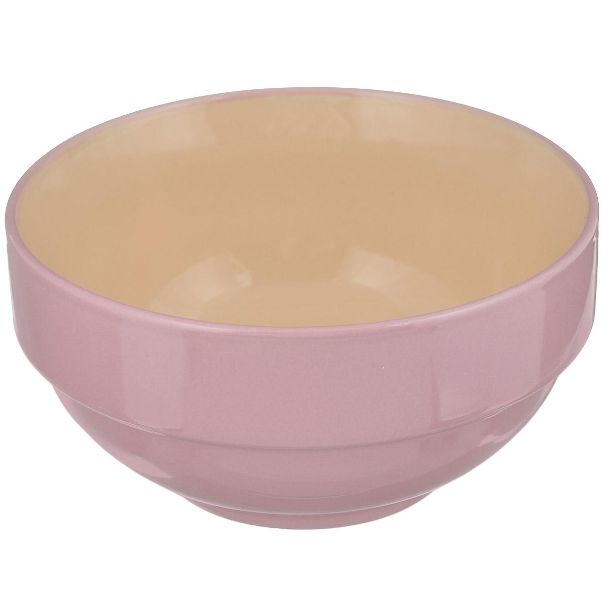Салатник Shenzhen Xin Tianli, цвет: розовый, 550 мл54 009312Салатник Shenzhen Xin Tianli выполнен из высококачественной керамики. Салатник прекрасно подойдет для сервировки различных блюд. Яркий дизайн украсит стол и порадует вас и ваших гостей. Диаметр: 14 см. Высота: 7 см. Объем: 550 мл.