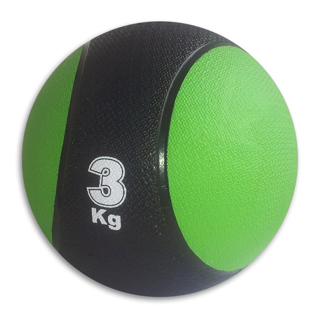 Медицинбол Start Up MBR3, цвет: черный, зеленый, 3 кг, 22 смSF 0085Медицинбол Start Up MBR3 - тренировочный мяч, который прекрасно подходит для занятий фитнесом, аэробикой или ЛФК (лечебной физкультурой). Шероховатая поверхность не дает ему выскользнуть из рук. Предназначен для укрепления мышц плечевого пояса, спины, рук и ног. Мяч выполнен из резины, наполнен также резиной.