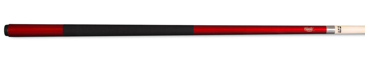 Кий для пула Cuetec Veltex, цельный, цвет: красный04621Со временем даже самые дорогие кии могут разрушаться под воздействием атмосферы. Стекловолоконное покрытие киев Cuetec полностью защищает деревянную сердцевину, исключая влияние изменений температуры и влажности. Кроме того, оно обеспечивает устойчивость кия к повреждениям от ударов, к выбоинам, царапинам и придает ему особую прочность.Кии Cuetec требуют меньшего ухода, чем обычные кии. Чаще всего достаточно провести по их поверхности слегка смоченной мягкой тканью или бумажным полотенцем, чтобы полностью очистить кий. Ткань, которая идеально подходит для чистки кия Cuetec - это ткань, применяемая для протирания очков.Материал: канадский клен.Материал стакана: поликарбонат.Высота стакана: 25 мм.Покрытие шафта: стекловолокно с обработкой TRU-GLIDE.Диаметр наклейки: 13 мм.Диаметр турняка: 31 мм.Обмотка: Veltex.Вид бильярда: пул.