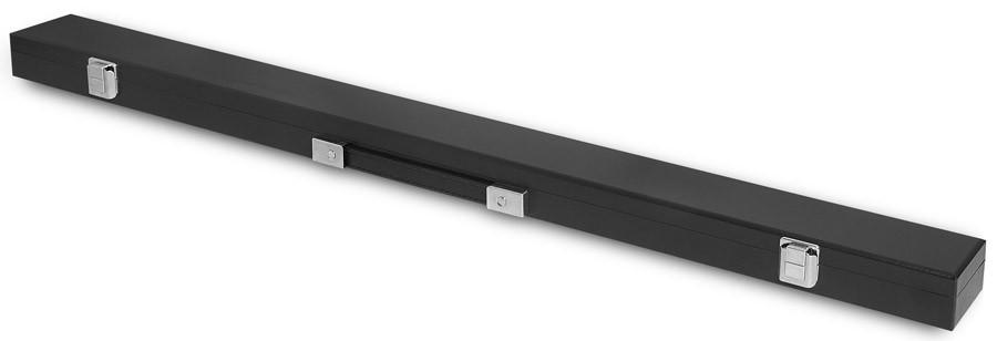 Кейс для киев Fortuna Classic Eco, 1 x 1, цвет: черный02129Кейс Fortuna Classic Eco предназначен для хранения и переноски одного разборного кия и защищает его от внешнего воздействия, что позволяет сохранить ваш кий в идеальном состоянии. Оснащен надежной ручкой для переноски.Применимость для киев: универсальный размер.Вид кия: двухсоставной: Отделения для шафта: 1. Отделения для турняка: 1. Отделения для удлинителя: нет.Ручка для переноски: есть.Наплечный ремень: нетДлина отделения для кия: 88 см.Форма конструкции: CS.