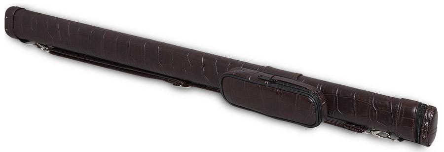 Тубус для киев Fortuna Action TR, цвет: коричневый, 87 см05829Тубус Fortuna Action TR предназначен для хранения и переноски одного разборного кия и защищает его от внешнего воздействия, что позволяет сохранить ваш кий в идеальном состоянии. В конструкции тубуса предусмотрен перемещаемый несъемный карман для мелких аксессуаров (мелки, перчатка, инструменты). Оснащен надежным ремнем для переноски. Длина отделения для кия: 87 см;Длина кармана: 18 см;Форма конструкции: AA.
