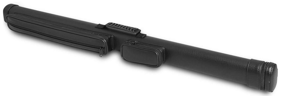Тубус для киев Fortuna Magnum, цвет: черный, 87 смWP 113027Тубус Fortuna Magnum предназначен для хранения и переноски одного разборного кия и защищает его от внешнего воздействия, что позволяет сохранить ваш кий в идеальном состоянии. В конструкции тубуса предусмотрено 2 кармана для мелких аксессуаров (мелки, перчатка, инструменты). Тубус оснащен надежной ручкой и ремнем для переноски.Длина отделения для кия: 87 см; Длина кармана: 12 см.Длина второго кармана: 40 см.Форма конструкции: CA.