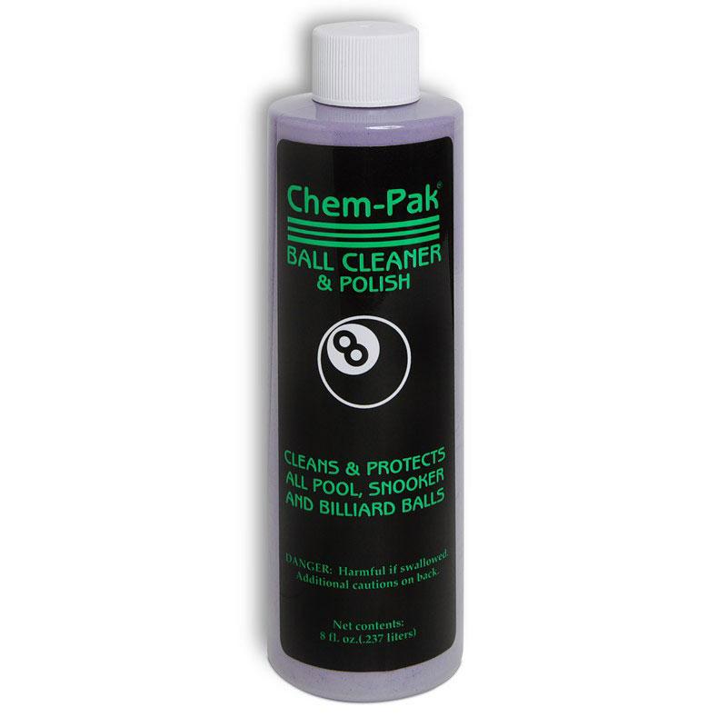 Средство для чистки и полировки шаров Chem-Pak Ball Cleaner & Polish, 237 мл332515-2800Чистящее средство Chem-Pak Ball Cleaner & Polish предназначено для чистки , полировки и защиты бильярдных шаров. Используется при ручной или машинной чистке. Качество чистки гарантируется.