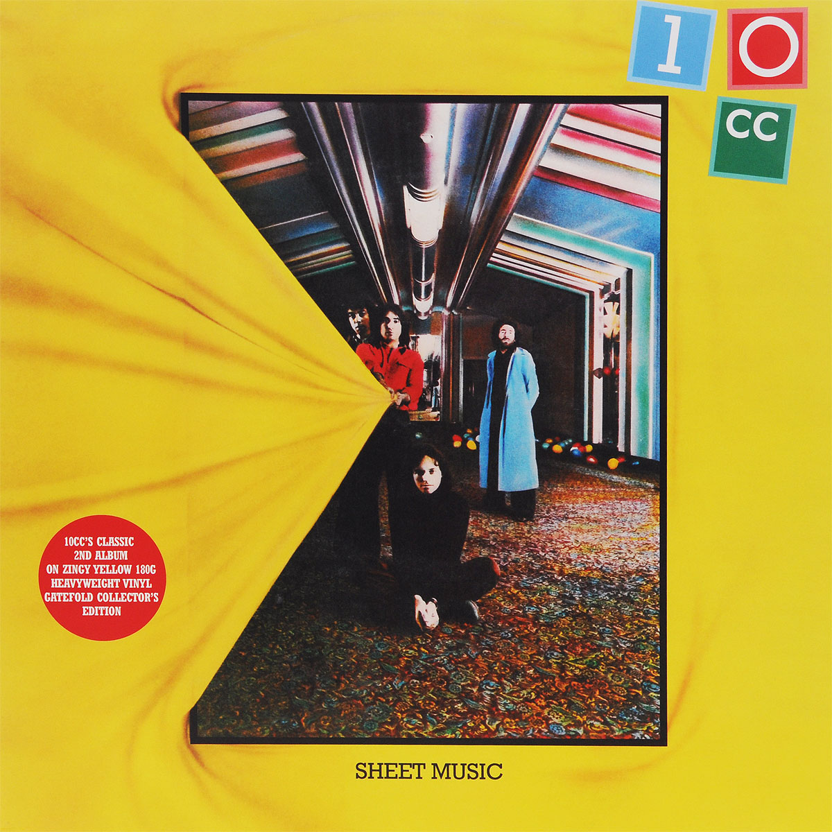 10 CC 10CC. Sheet Music (LP)