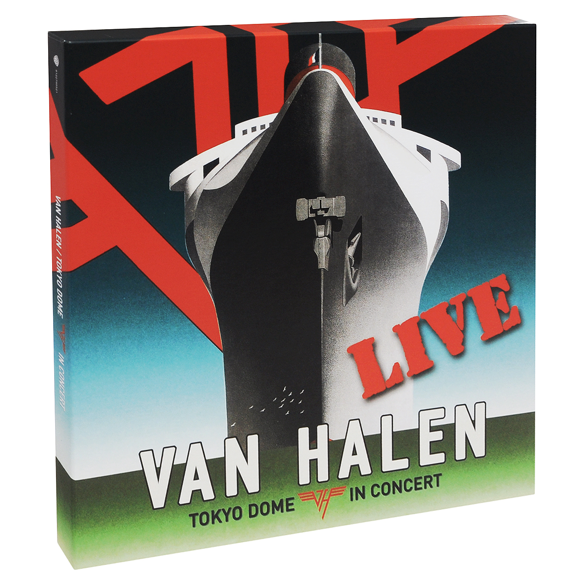 Van Halen Van Halen. Tokyo Dome In Concert. Live (4 LP) 2016 new short bobo haircuts wigs silver white strike the blood date a live tobiichi origami touhou project youmu konpaku