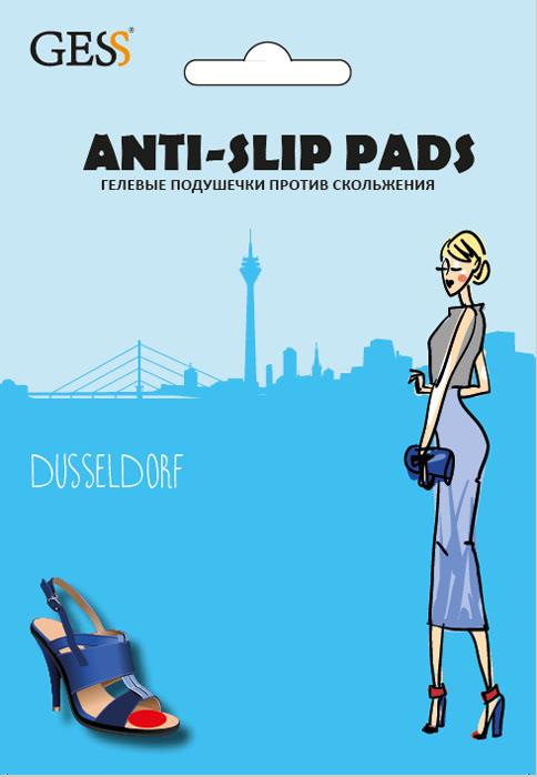 Gess Гелевые подушечки против скольжения Anti-Slip PadsGESS-010