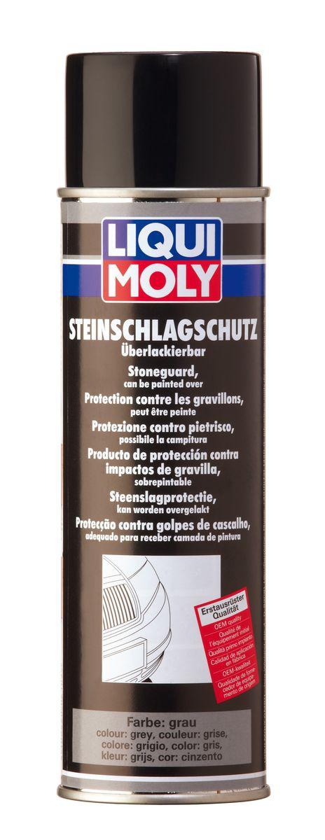 Антигравий Liqui Moly, цвет: серый, 500 млVL-P2E WMАнтигравий Liqui Moly - средство, образующее после высыхания плотное, эластичное покрытие, устойчивое к истиранию и обеспечивающее отличную антикоррозийную защиту. Защищает от ударов камней пороги, спойлеры бамперов, а также служит в качестве шумоизоляционного слоя. Допускается окраска еще невысохшего покрытия. Совместимо с ПВХ пластиками. При нанесении покрытия можно смешивать средство с краской до 30%, для придания ему цвета кузова. После нанесения можно окрашивать. Применение: для восстановления защитного покрытия и дополнительной защиты кузова от удара камней (в качестве антигравия), для задней и передней пластиковой обвески, спойлеров, порогов и т.д. При нанесении образует структурированную поверхность. После полного высыхания покрытие устойчиво против растворителей. Состав: предполимеры, полиуретаны, диметилэфир, ксилол, пропеллент СО2. Не содержит озоноразрушающих веществ. Товар сертифицирован.
