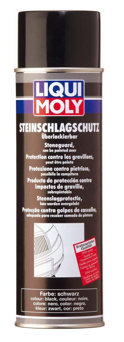 Антигравий Liqui Moly, цвет: черный, 500 млIRK-503Антигравий Liqui Moly - средство, образующее после высыхания плотное, эластичное покрытие, устойчивое к истиранию и обеспечивающее отличную антикоррозийную защиту. Защищает от ударов камней пороги, спойлеры бамперов, а также служит в качестве шумоизоляционного слоя. Допускается окраска еще невысохшего покрытия. Совместимо с ПВХ пластиками. При нанесении покрытия можно смешивать средство с краской до 30%, для придания ему цвета кузова. После нанесения можно окрашивать. Применение: для восстановления защитного покрытия и дополнительной защиты кузова от удара камней (в качестве антигравия), для задней и передней пластиковой обвески, спойлеров, порогов и т.д. При нанесении образует структурированную поверхность. После полного высыхания покрытие устойчиво против растворителей. Состав: предполимеры, полиуретаны, диметилэфир, ксилол, пропеллент СО2. Не содержит озоноразрушающих веществ. Товар сертифицирован.